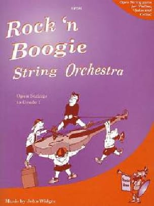 Rock and Boogie - String orch. John Widger Partition laflutedepan