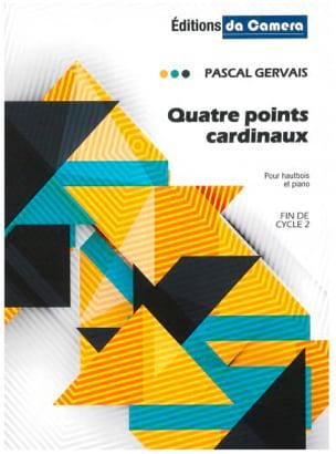 Quatre points cardinaux Pascal Gervais Partition laflutedepan
