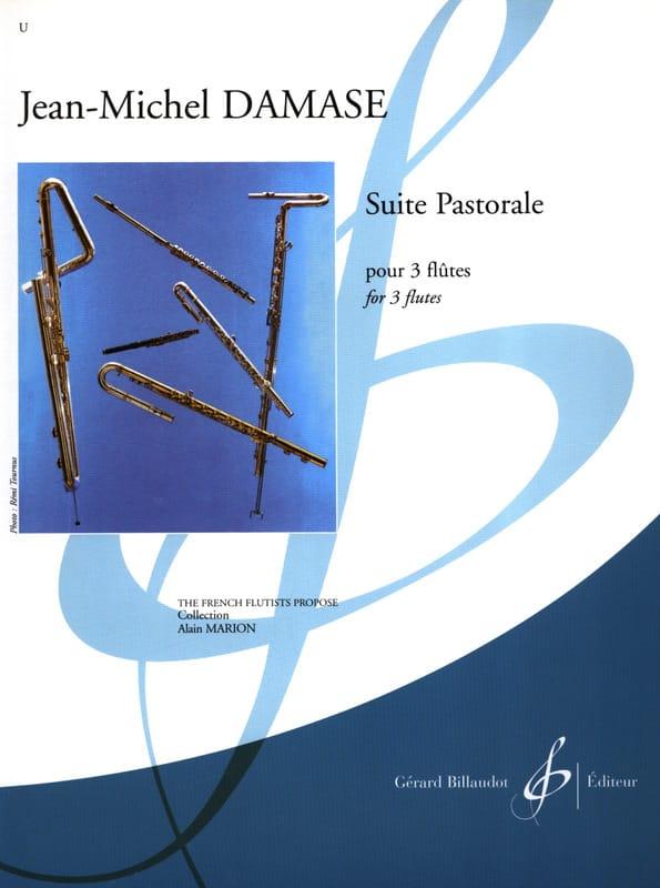 Suite Pastorale - 3 Flûtes - Jean-Michel Damase - laflutedepan.com