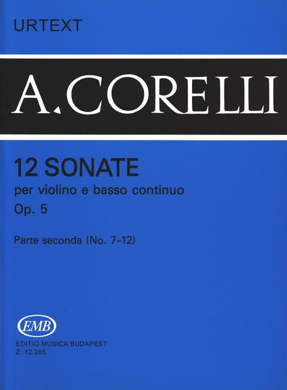 12 Sonates Op. 5 Volume 2 7 A 12 - CORELLI - laflutedepan.com