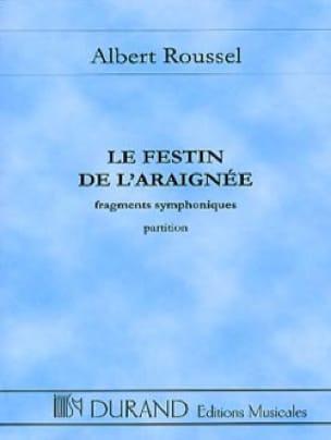 Le festin de l'araignée - Conducteur - ROUSSEL - laflutedepan.com