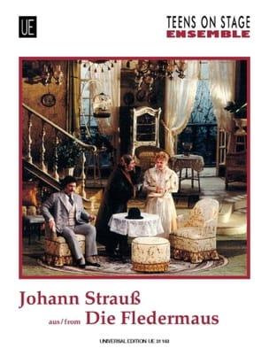 Die Fledermaus -Ensemble - Johann (Fils) Strauss - laflutedepan.com