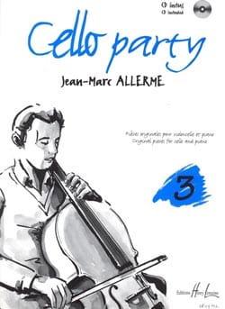 Cello Party Volume 3 Jean-Marc Allerme Partition laflutedepan