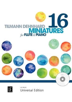 16 Miniatures Tilmann Dehnhard Partition laflutedepan