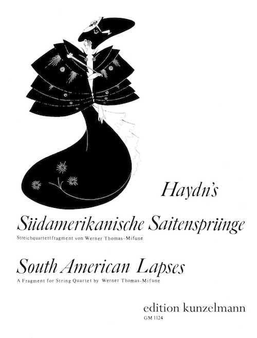 South American Lapses - String Quartet - HAYDN - laflutedepan.com