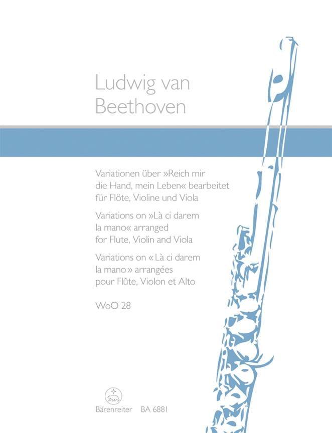 Variationen über Reich mir die Hand, mein Leben aus Mozarts Don Giovanni - laflutedepan.com