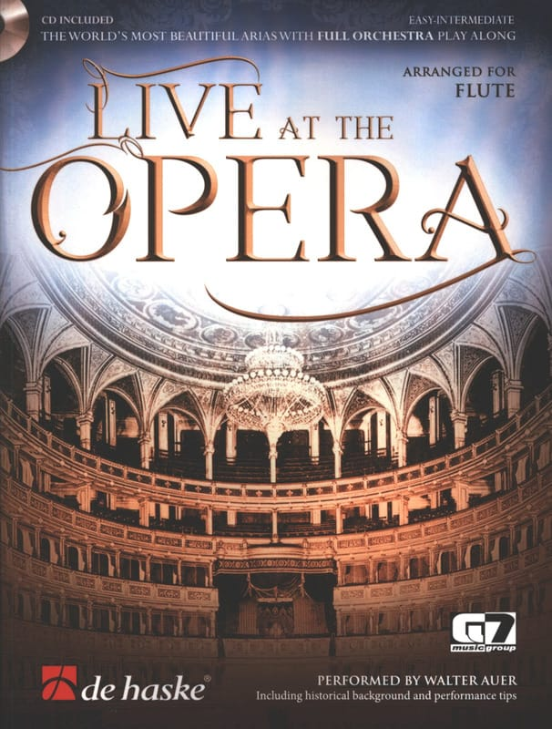 Live at the Opera - Flute - Partition - laflutedepan.com
