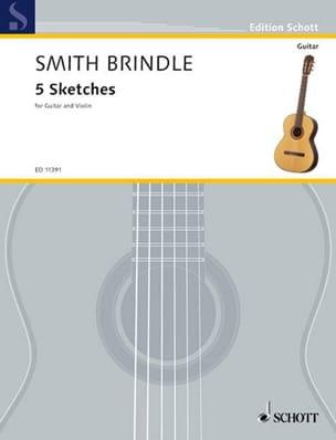 5 Sketches Brindle Reginald Smith Partition 0 - laflutedepan