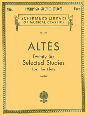 26 Selected Studies - Flute Henry Altès Partition laflutedepan