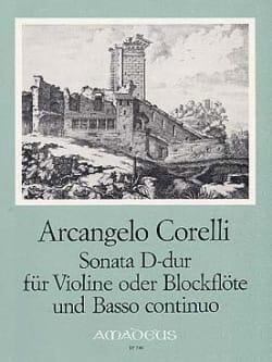 Sonate D-dur - CORELLI - Partition - Violon - laflutedepan.com