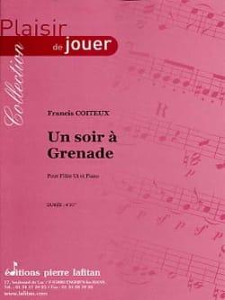 Un Soir A Grenade Francis Coiteux Partition laflutedepan