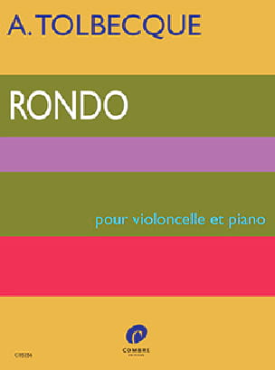 Rondo - Tolbecque - Partition - Violoncelle - laflutedepan.com