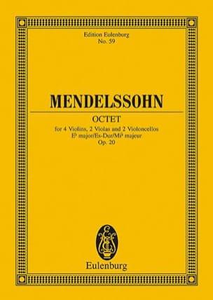Oktett Es-Dur, Op. 20 MENDELSSOHN Partition laflutedepan