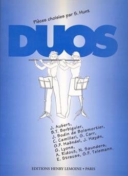Duos - 2 flutes - Partition - di-arezzo.co.uk