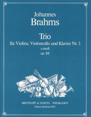 Klaviertrio Nr. 3 c-moll op. 101 -Stimmen BRAHMS laflutedepan
