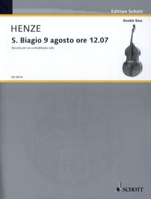 S. Biagio 9 Agosto ore 1207 Hans Werner Henze Partition laflutedepan