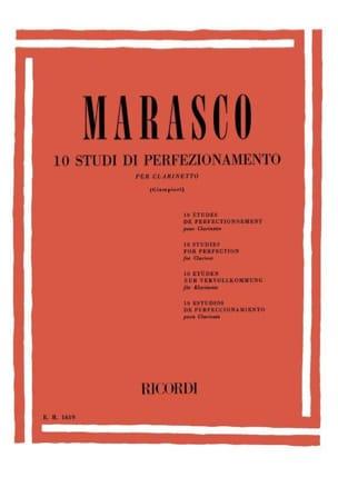 10 Studi di perfezionamento - Clarinetto Giuseppe Marasco laflutedepan