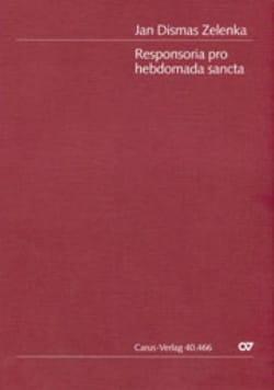 Responsoria pro hebdomada Sancta - Conducteur ZELENKA laflutedepan