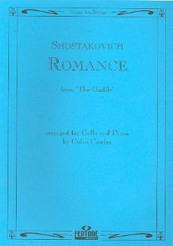 Romance from The Gadfly - Cello CHOSTAKOVITCH Partition laflutedepan