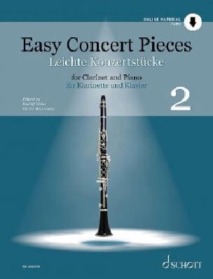 Easy Concert Pieces - Vol. 2 Partition Clarinette - laflutedepan