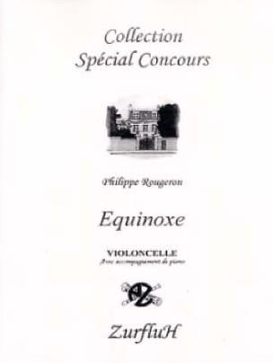 Equinoxe - Philippe Rougeron - Partition - laflutedepan.com