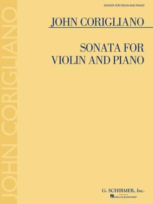 Sonata for Violin and Piano John Corigliano Partition laflutedepan