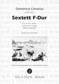 Sextett F-Dur - Partitur + Stimmen CIMAROSA Partition laflutedepan