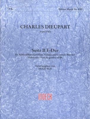 Suite n° 2 fa maggiore Charles François Dieupart laflutedepan