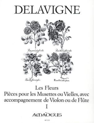 Les Fleurs Op. 4 - Volume 1 Philibert Delavigne Partition laflutedepan