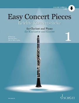 Easy Concert Pieces - Vol. 1 Partition Clarinette - laflutedepan