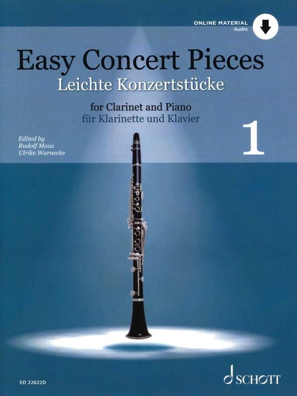 Easy Concert Pieces - Vol. 1 - Partition - laflutedepan.com