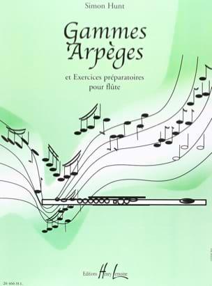 Simon Hunt - Ranges and Arpeggios - Partition - di-arezzo.com