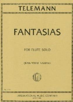 TELEMANN - 12 Fantasias - Partition - di-arezzo.com