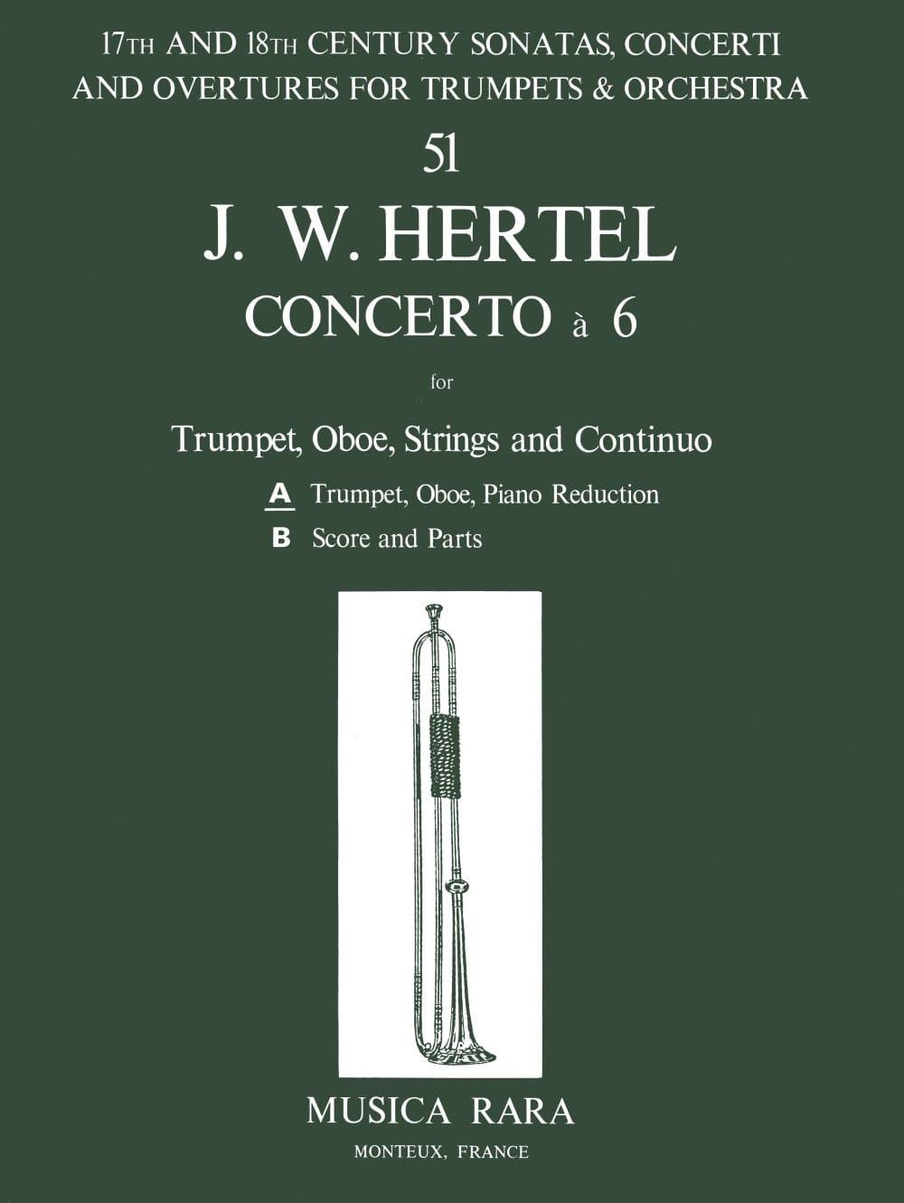 Concerto à 6 -Trumpet Oboe Piano - laflutedepan.com