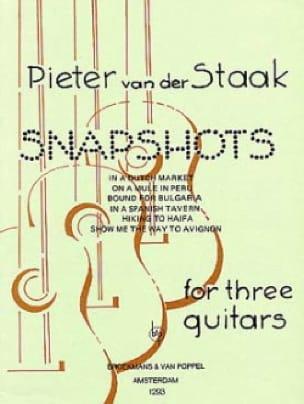 Snapshots -3 Guitars - Peter van der Staak - laflutedepan.com