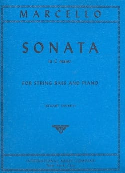 Sonate in C major - String Bass Benedetto Marcello laflutedepan