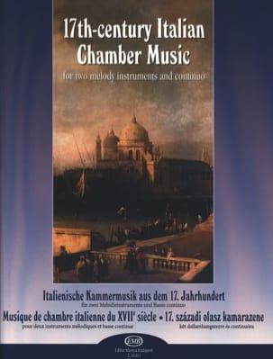 17th Century Italian Chamber Music Partition Trios - laflutedepan