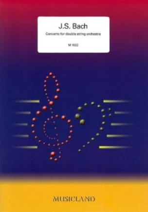 Concerto for double string orchestra - BACH - laflutedepan.com