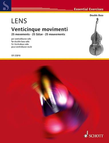 Venticinque Movimenti - Nicholas Lens - Partition - laflutedepan.com