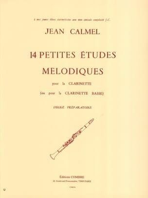 14 Petites études mélodiques Jean Calmel Partition laflutedepan