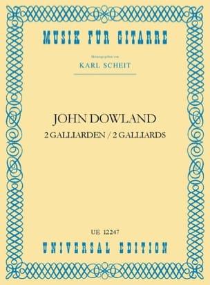2 Galliarden DOWLAND Partition Guitare - laflutedepan