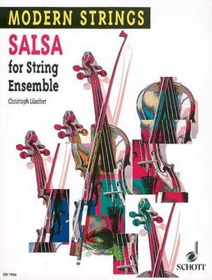 Salsa for String Ensemble Christoph Lüscher Partition laflutedepan