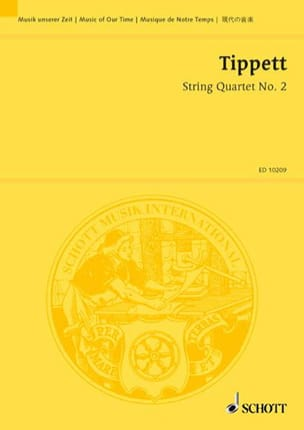 String quartet n° 2 - Score - Michael Tippett - laflutedepan.com