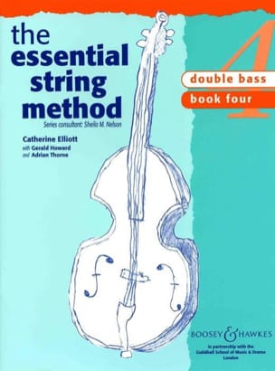 Essential string method, Volume 4 - Double bass laflutedepan