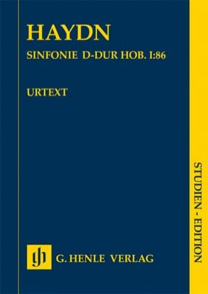 Symphonie n° 86 en Ré Majeur Joseph Haydn Partition laflutedepan