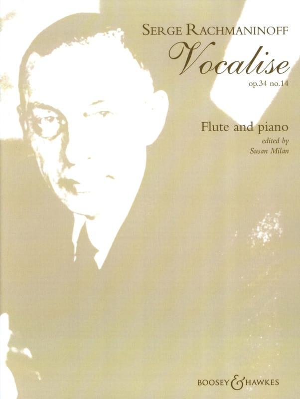 Vocalise op. 34 n° 14 - Flûte piano - RACHMANINOV - laflutedepan.com