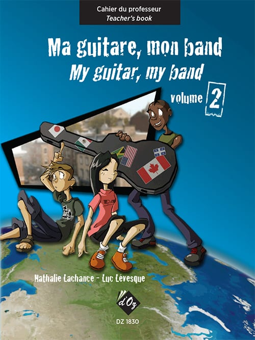Ma guitare, mon band (cahier du professeur) vol. 2 - laflutedepan.com