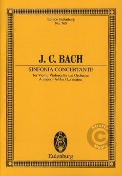 Sinfonia concertante A-Dur Johann Christian Bach laflutedepan