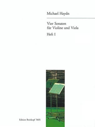 4 Sonaten für Violine und Viola - Heft 1 - laflutedepan.com