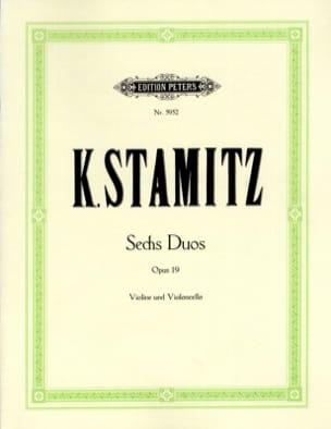 6 Duos op. 19 STAMITZ Partition 0 - laflutedepan